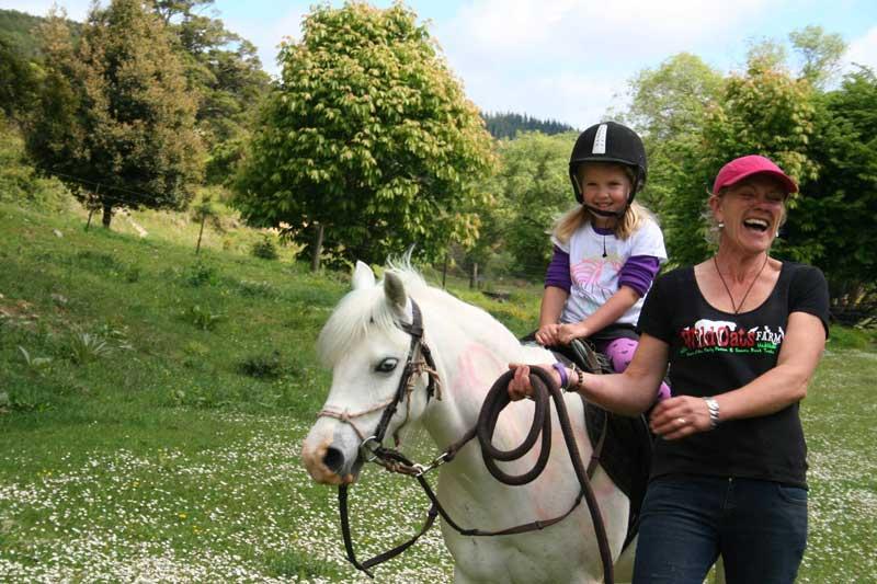 Kindy Visit Pony Riding